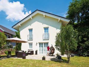 Außenfassade vom Familienhaus von Heinz von Heiden