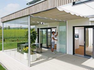Entwurf Musterhaus Brettheim von Keitel Haus Terrasse