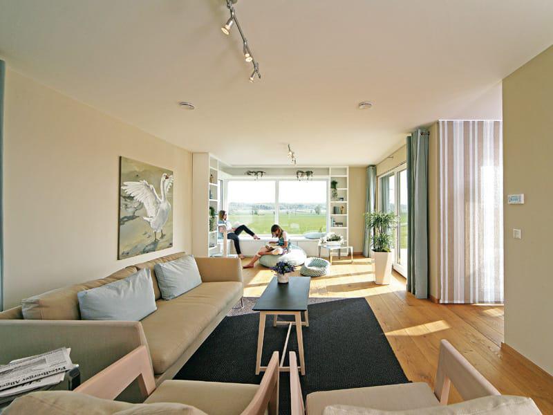 Entwurf Musterhaus Brettheim von Keitel Haus Wohnbereich