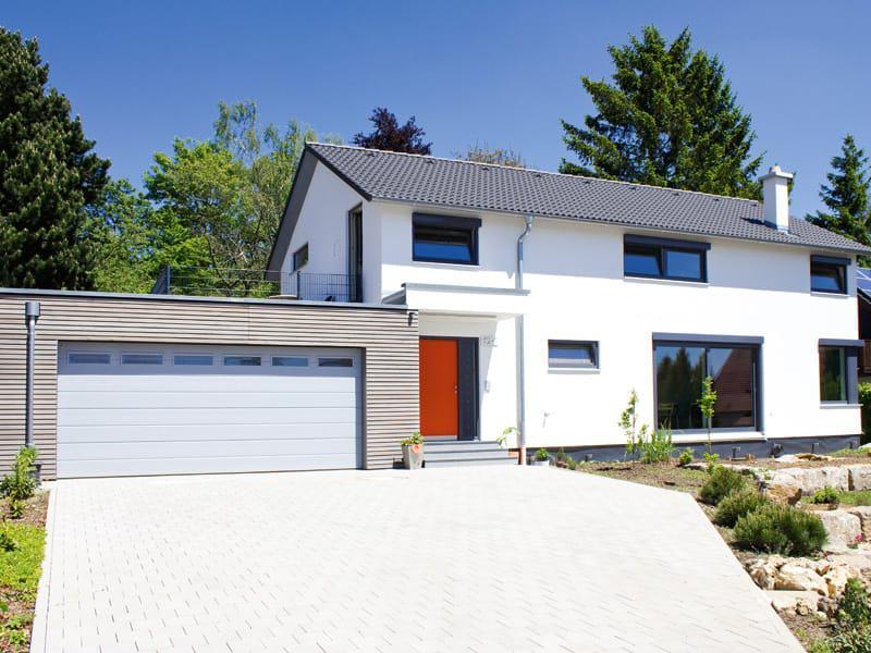 Entwurf Homestory 322 von Lehner Haus Außenansicht