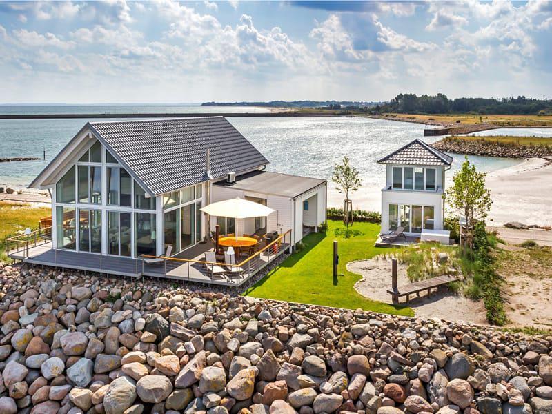 Ferienhaus am Meer vom Baufritz Außenansicht