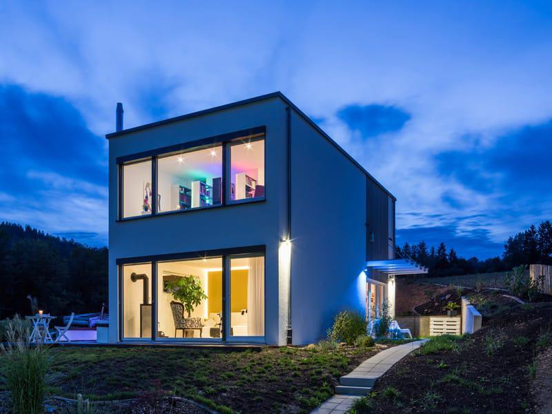 Entwurf Dornhan Bettenhausen Außenansicht von Kitzlingerhaus