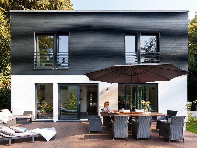 Kundenhaus Hesse von SchwörerHaus Terrassenseite