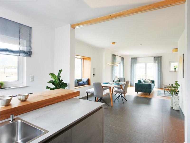 Musterhaus Günzburg von Fingerhut Haus Küche