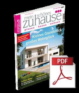 Cover mein schönes zuhause°°° Juli-August 2018 - ebook