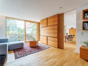 Wohnbereich im Entwurf Witt von Baufritz