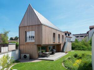 Entwurf individuelle Planung von Keitel Haus Außenansicht