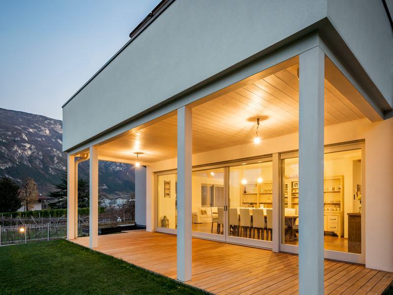 Entwurf Cipriani von Rubner Haus Terrasse