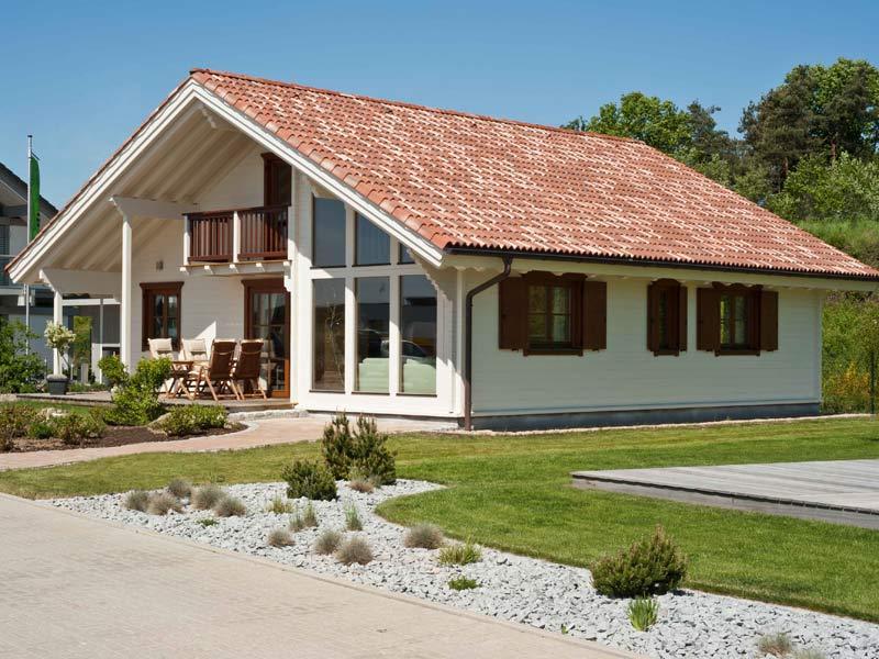 Haus Gardena von Rubner Haus. Außenansicht