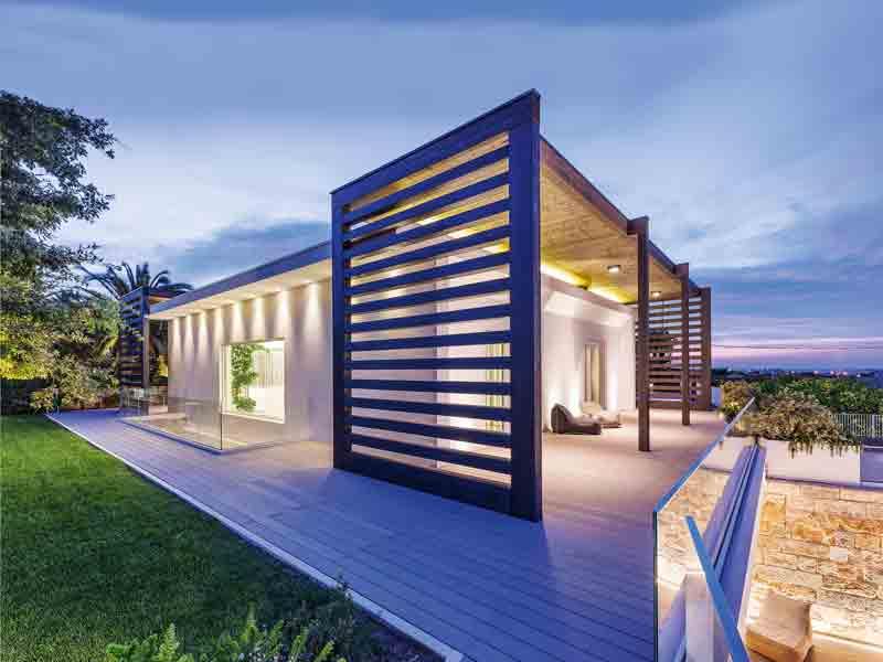 Entwurf Miriam Rubner Bungalow Fassade