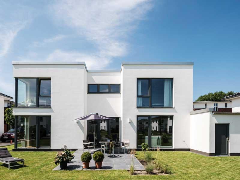 Gartenseite_Arge Haus Cubiculum
