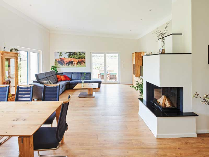 Entwurf Nivelo von Fingerhut Haus Wohn-Ess-Bereich
