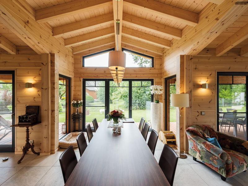 Entwurf Oberrhein von Fullwood Wohn Essbereich