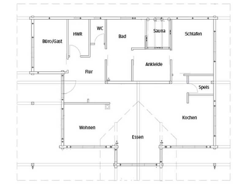 Grundriss Entwurf Oberrhein von Fullwood