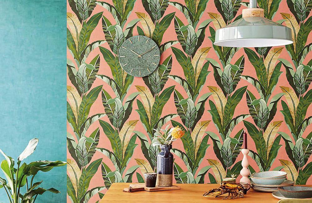 Tropische Wand Tapete Miami