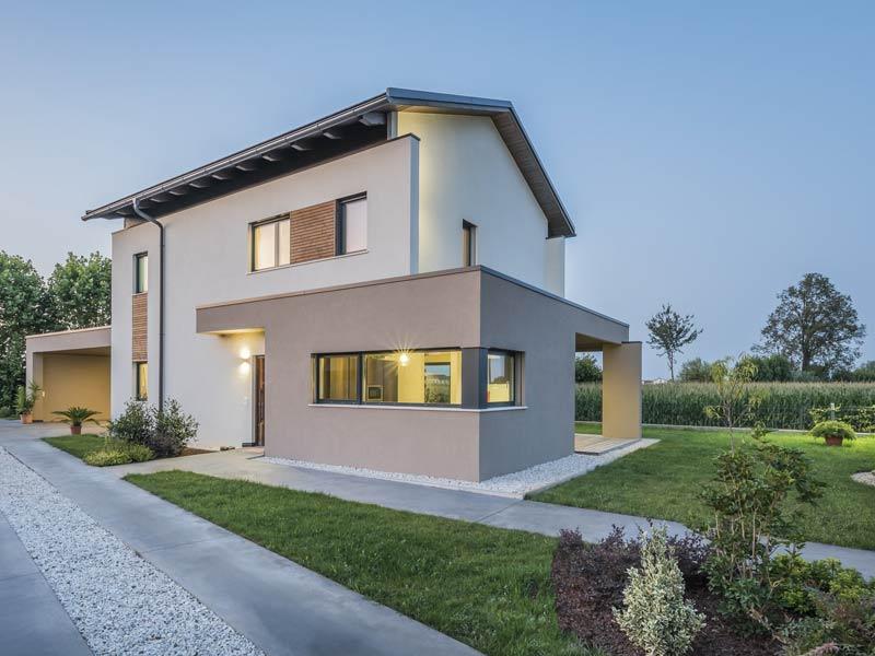 Haus Verona von Rubner-Haus. Eckerker