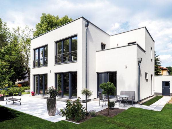 Entwurf Kubus 7 Falkensee von Arge Haus Aussenansicht