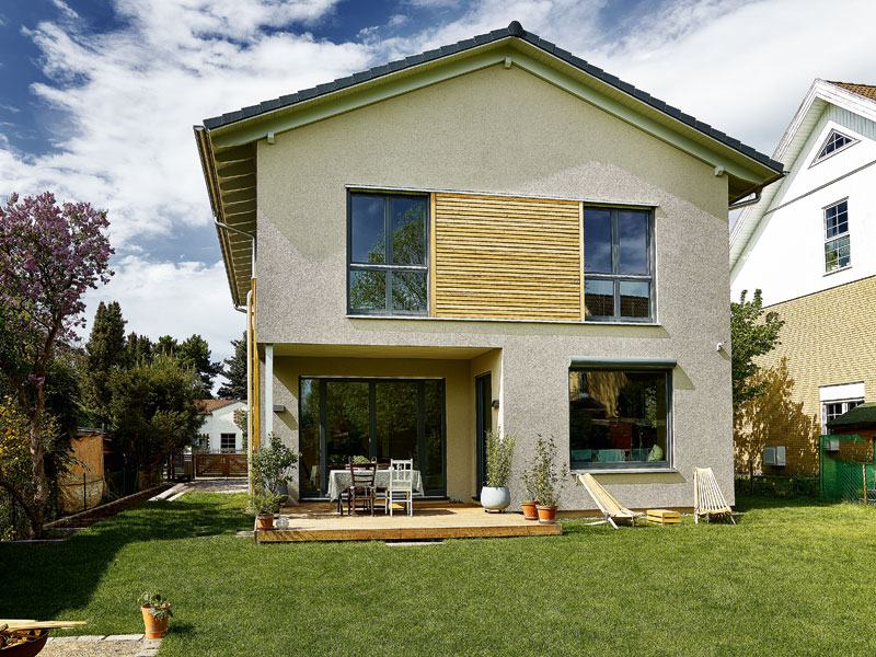Haus Boavista von Gussek Haus Gartenansicht