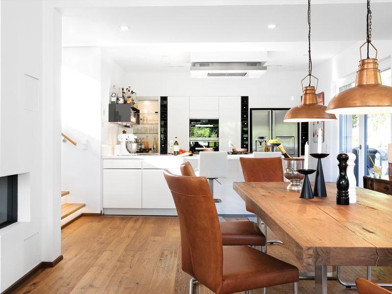 Kundenhaus Guenzel Schwoerer Essbereich