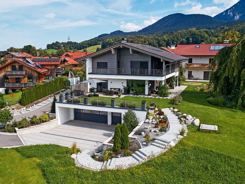 Haus Grünwald von Sonnleitner Aussenansicht