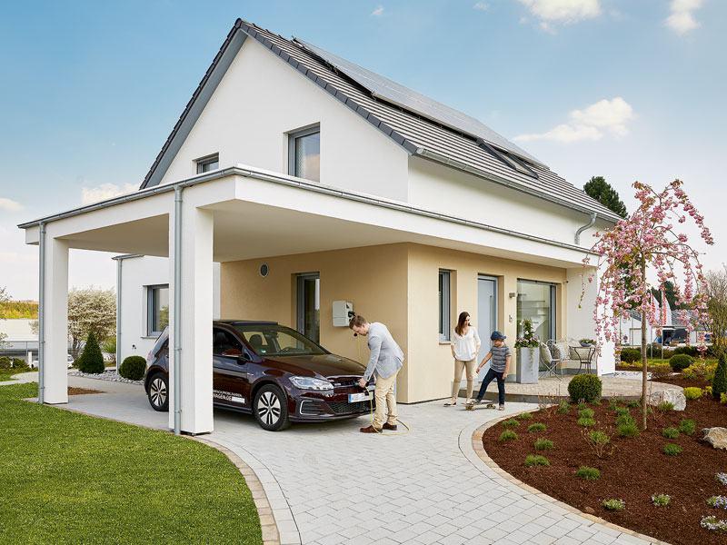 Haus Wenden von WeberHaus Eingang