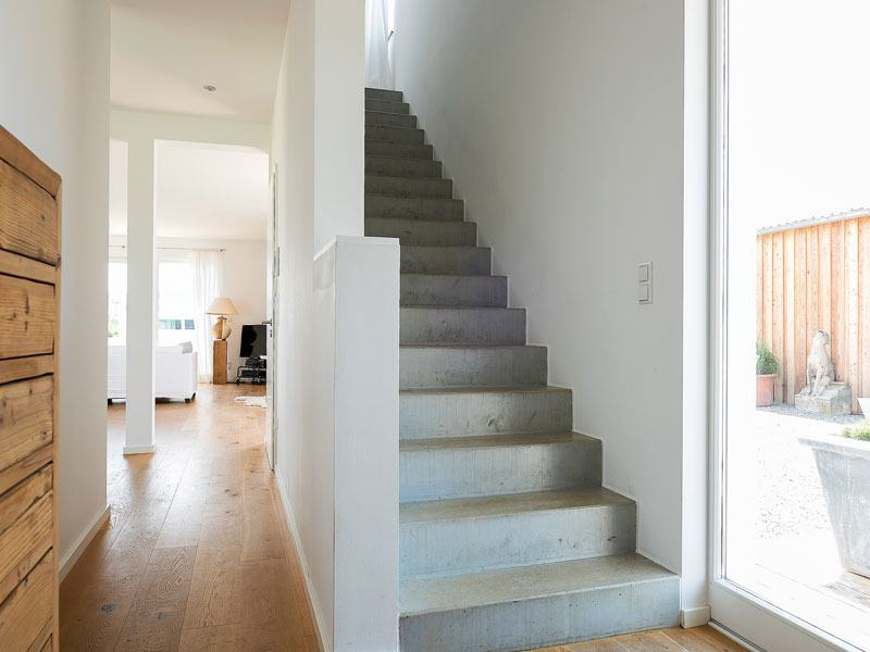 individuelle Planung Wolf System Treppe