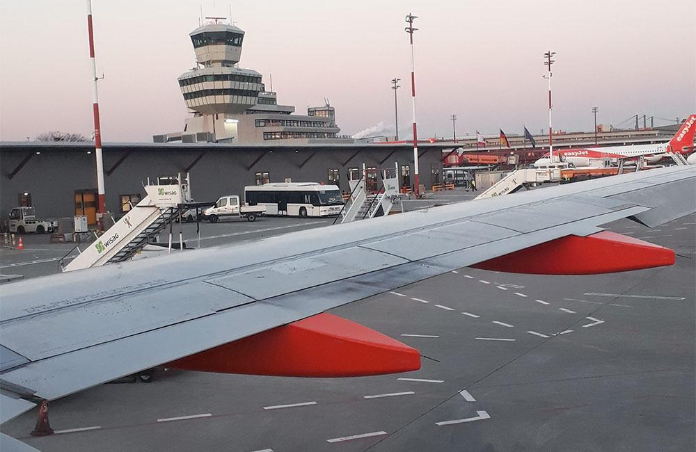 """Flughafen Tegel in Berlin: Mein Tor zur """"Welt""""."""