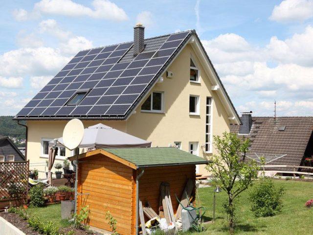 Solarstrom Kraftwerk von Senec