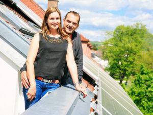 Solarstrom Solardach