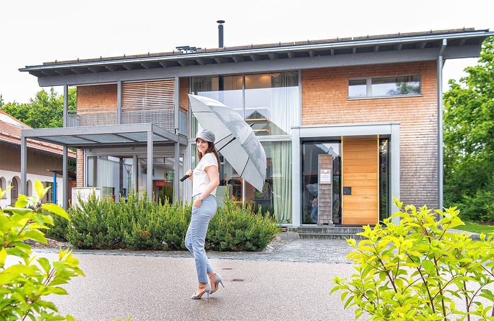 melinashomestyle Musterhäuser von Baufritz
