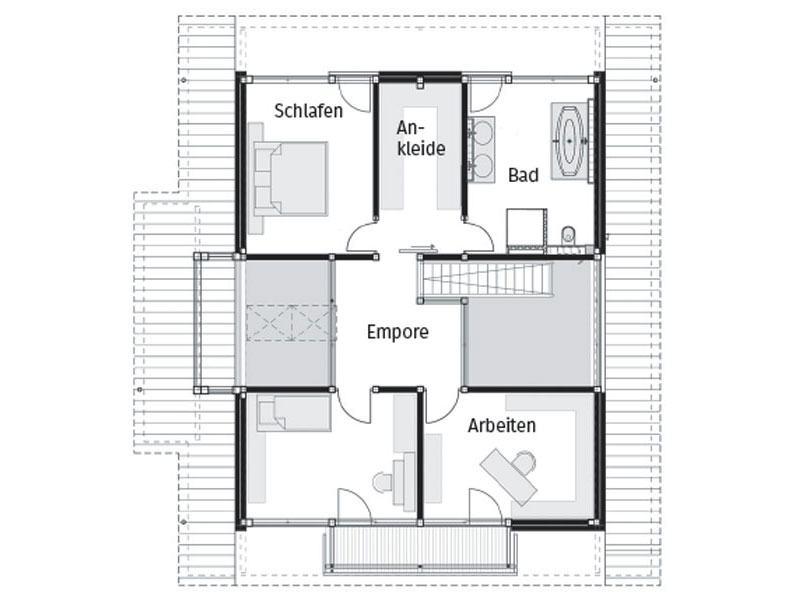 Grundriss Obergeschoss Huf Modum 8_10