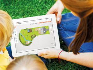 Smart Garden Planung per App