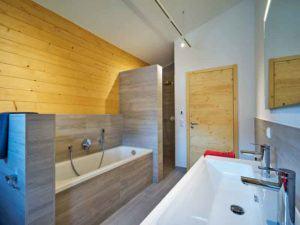 Badezimmer in der Casa Vita von Sonnleitner