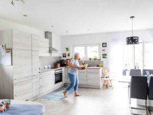 Küche in der Einliegerwohnung