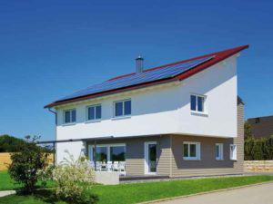 Seitenansicht von Haus Sonnenfeld