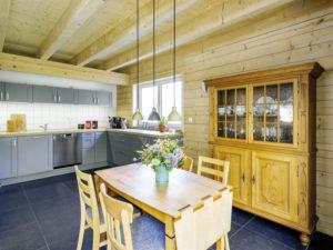 Entwurf Blauraute von Stommel Haus Wohnküche