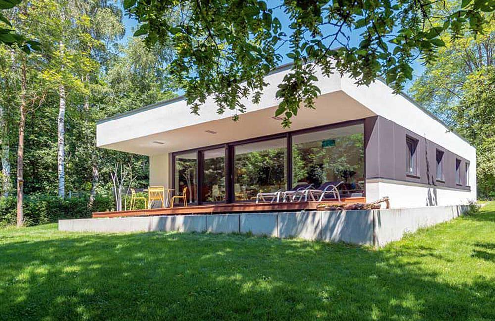 Familienbungalow von ZimmerMeisterHaus für 4 Personen: 135 Quadratmeter Wohnfläche und ganz viel Stauraum.