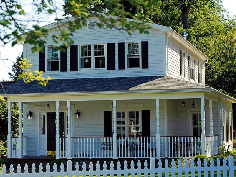 Entwurf Prairie Boston Haus Aussen