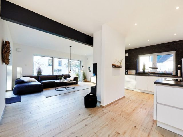 Musterhaus Silkeborg von Danhaus Koch Wohnbereich