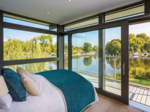 Entwurf Modum Flachdach Themse von Huf Haus Schlafen
