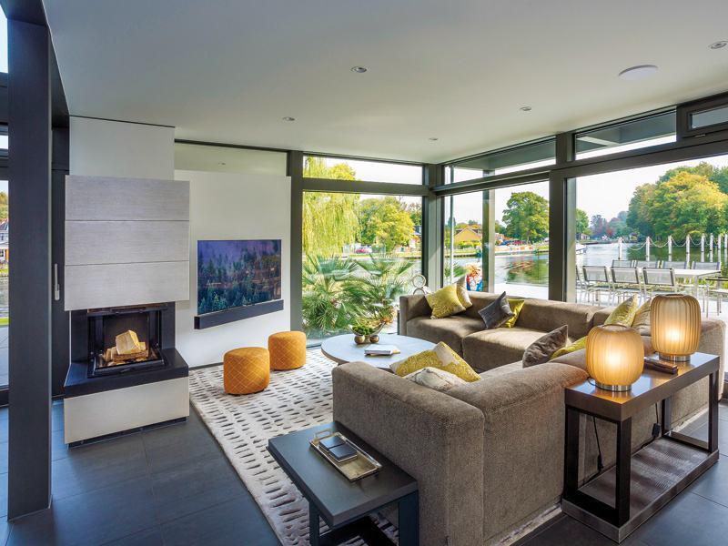 Entwurf Modum Flachdach Themse von Huf Haus Wohnen
