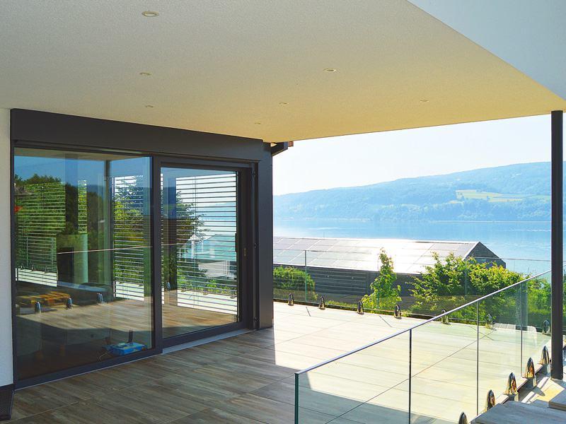 Entwurf Homestory 733 von Lehner Haus Terrasse