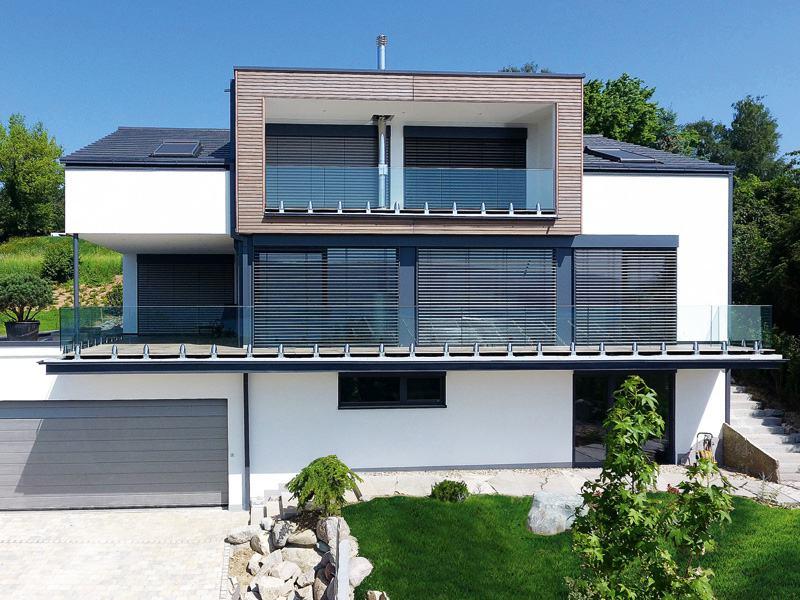 Entwurf Homestory 733 von Lehner Haus aussen