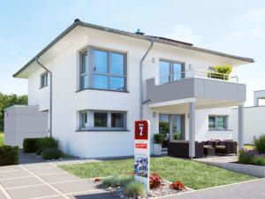 Musterhaus Köln von Fingerhut Haus aussenansicht