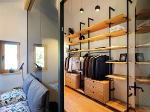 Musterhaus Liesl von Regnauer Ankleide Schlafzimmer