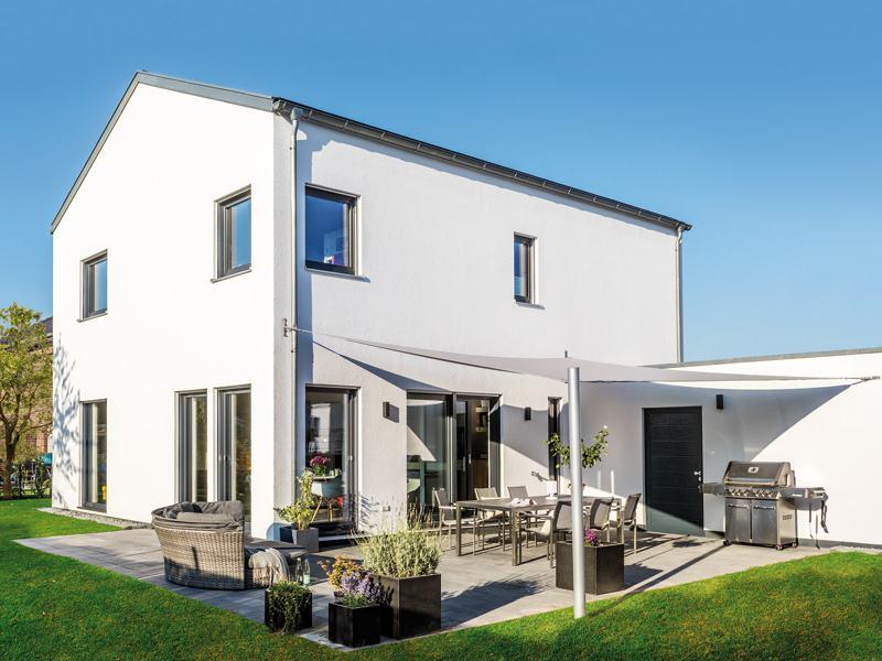 Kundenhaus Böger von Schwörerhaus aussen Terrasse