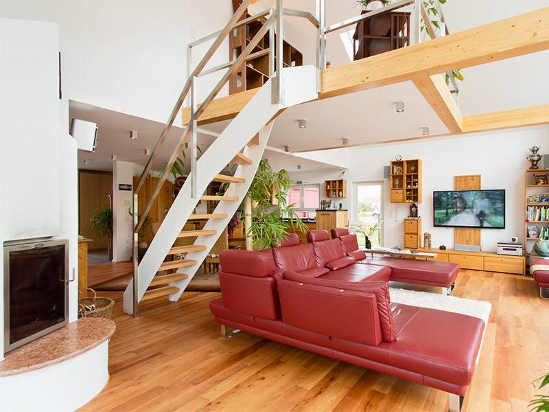 Entwurf Brilo von Fingerhuthaus Treppe
