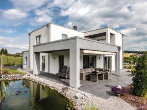 Entwurf Lageto von Fingerhut Haus Terrasse
