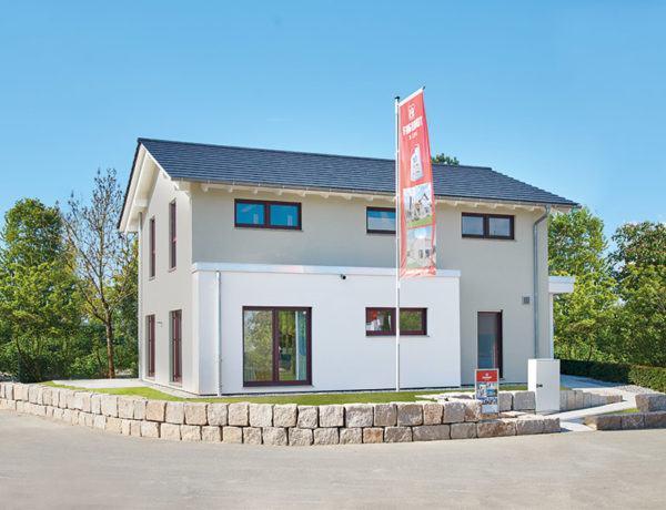Musterhaus Mannheim von Fingerhut Haus Aussen