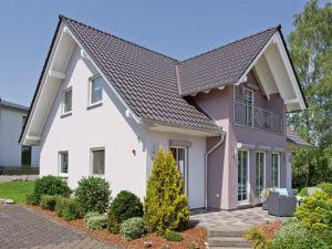 Musterhaus Neunkhausen von Fingerhut Haus Terrasse